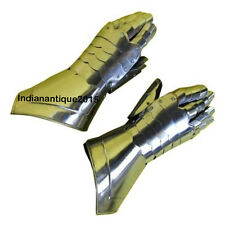 ARMOR METAL GAUNTLET GAUNTLET GLOVES STEEL  MEDIEVAL KNIGHT CRUSADER
