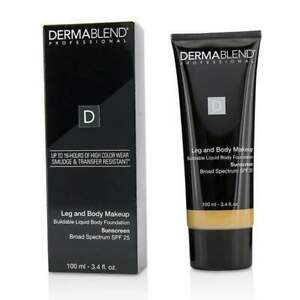 Dermablend Leg and Body Makeup 40N Medium Natural - NEW IN BOX 100% AUTHENTIC