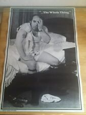 1972 The Whole Thing Poster Western Graphics Funny Dirty Underwear Socks Rare