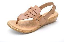 Born KARIS Tan Brown Leather Slingback Sandals Women's 8 - NEW - D60516