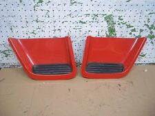 1995 FIREBIRD LEFT RIGHT HOOD VENT LOUVERS 1993-1997 PONTIAC 3.4L 1994 1996 RED