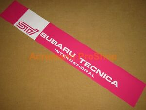 "53"" Windshield decal sticker banner sun strip visor for brz wrx sti xti 6 legacy"