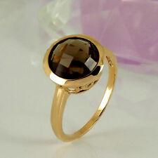 Handgefertigte Ringe Echtschmuck aus Gelbgold für Damen