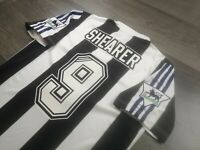 [Retro] - Newcastle Home 1996/97 9 SHEARER with Patches Size L