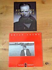 BRYAN ADAMS TOUR PROGRAMMES x 2. 1987 & 2014. Excellent. Scarce