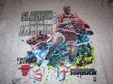 SLAMMIN N JAMMIN VINTAGE 1990 MICHEAL JORDAN TEE SHIRT XL SOFT AND COZY