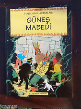 Tintin - TURC - Temple du soleil YAPI KREDI YAYINLARI 1998 NEUF RARE EPUISE!!!