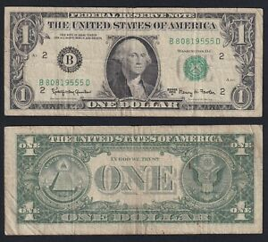 United States 1 dollar 1963 BB/VF  C-D1