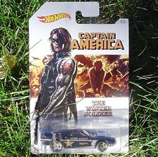 """Riveted. Captain America """"The Winter Soldier. Hot Wheels. DJK76. New In Package!"""