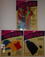 1991 Happy to be Me Doll, Clothes & Accessories - All New in Original Packaging