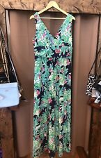 Lilly Pulitzer Sloane Maxi Dress Trunk Show Size XL Multi Color NWT NEW $198