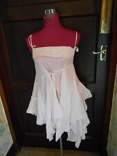 Stunning  All Saints  Nansea Top White Size 8  Excellent condition