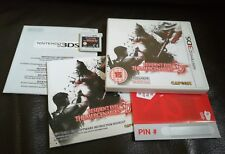 Nintendo 3DS Pal Game RESIDENT EVIL THE MERCENAIRES 3D with Box Instructions