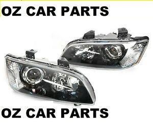 PROJECTOR HEADLIGHTS PAIR NEW HOLDEN COMMODORE VE SERIES 1 MODELS VE SSV CALAIS