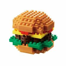 NANOBLOCK HAMBURGER Nano Block Micro-Sized Building Blocks Nanoblocks NBC-217