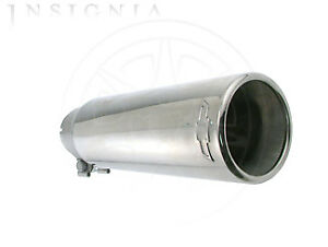 Genuine GM Exhaust Tip By Gm Dual Wall Straight Cut 22799812