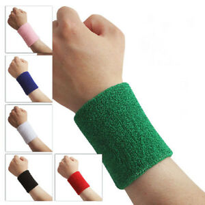 Hot 1X Elastic Bandage Basketball Tennis Sports Protect Wrist Straps Wristbands