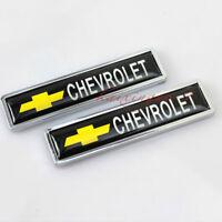 Auto Dekoration Zubehör Aufkleber Kotflügel Emblem Abzeichen Decal für Chevrolet