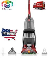 Hoover Power Scrub Deluxe Carpet Cleaner Machine, Upright Shampooer,Fh50150, Red