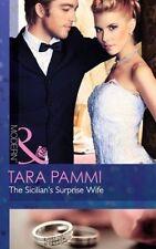 Pammi, Tara, The Sicilian's Surprise Wife (Society Weddings, Book 3), Very Good