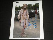 ADDY MILLER Signed 8x10 Photo Teddy Bear Girl The Walking Dead Autograph B