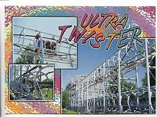 ULTRA TWISTER,UNIQUE ROLLER COASTER,ASTROWORLD,TX~SIX FLAGS AMUSEMENT PARK~5X7""