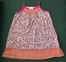 hanna andersson 110 Girls Dress Multicolored Pink