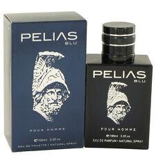 Pelias Blu by YZY Perfume Eau De Toilette Spray 3.3 oz Men NIB