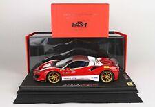 1/18 BBR - NIKI LAUDA Tribute edition Ferrari 488 Pista Spyder Roof up - Ltd 99.