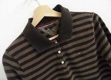 Womens Tommy Hilfiger Buttoned Long Sleeve Polo Shirt Size XL : LS750