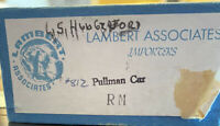 Lambert Associates Pullman Brass Passenger Car #812