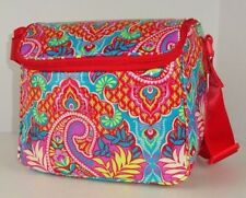 NWT Vera Bradley STAY COOLER PAISLEY IN PARADISE Insulated Lunch Box Bag Tote