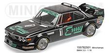 MINICHAMPS 155782501 - BMW 3.0 CSL – Italie – Grano / XHENCEVAL – GP BRNO 197