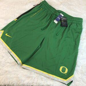 Nike Oregon Ducks Dri-Fit Basketball Shorts Size XXL 2XL Mens Green CN1663-377