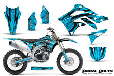 KAWASAKI KXF450 KX450F 12-15 CREATORX GRAPHICS KIT DECALS TRIBAL BOLTS BLI