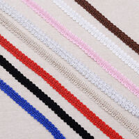 5M Braid Lace Ribbon Centipede Sewing DIY Craft For Clothes Multiple Color Deco