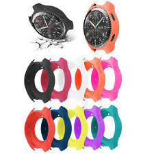 Soft Silicone Shell for Samsung Gear S3 Frontier /Galaxy Watch 46mm Case Cover