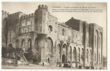 France - Avignon, Facade principale du Palais des Papes - 1920's postcard