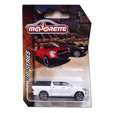 White Toyota Hilux Revo Majorette Pickup Series Diecast Cars 292K 1:58 3-Inch