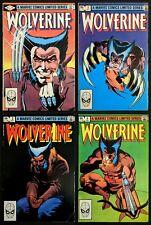Wolverine #1-4 Complete Frank Miller Claremont Key Mini Series Marvel 1984
