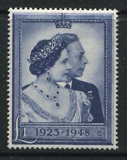 GB KGVI 1948 Silver Wedding £1 mint o.g.