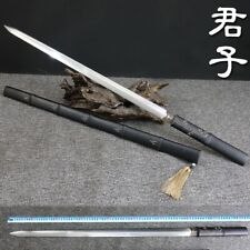 Chinese Gentleman Sword Traditional Hand Forged T10 Steel Sharp Battle Ready#946