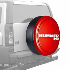 "33"" Hummer H3 Logo - Rigid Tire Cover - Painted - Victory Red"