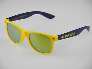 """CLUB AMERICA - AGUILAS Sunglasses - """"Corazon Bicolor""""(sol,gafas,oculos)"""