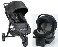 Baby Jogger City Mini GT Travel System Stroller w City Go Infant Car Seat Black