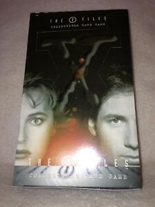 X-Files CCG Card Game Booster Box by USPC Games - Factory sealed