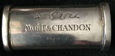 MOET CHANDON CHAMPAGNE LIGHTER SLEEVE  925 SILVER RARE USED