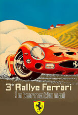 Ferrari 250 GTO International Rally Race  Poster Print