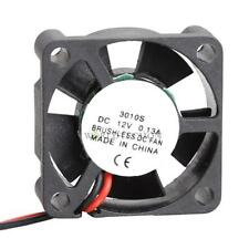 Small Brushless DC Cooling Fan 12V 30mm 3cm 30x30x10mm 3010S 2Pin 7 Blades