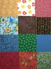 500 pk.Cotton Quilting Fabric Scrappy Charm pack 5 inch squares